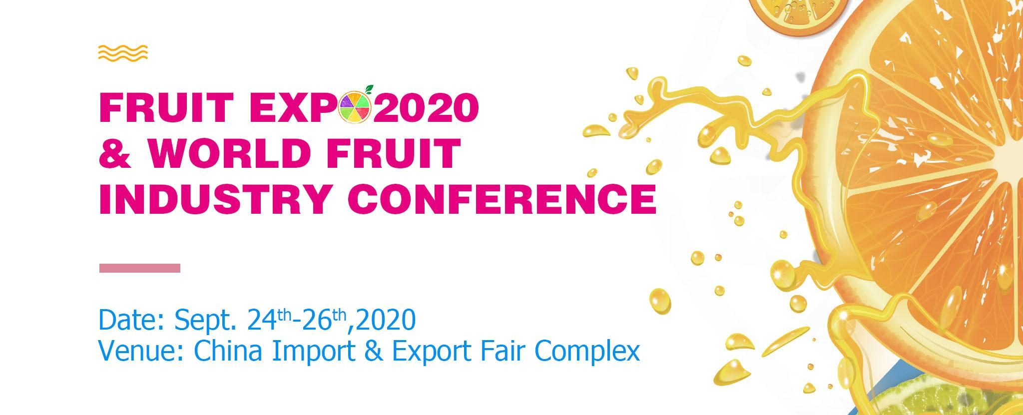 Guangzhou International Fruit Expo 2020 (24.09.2020-26.09.2020)