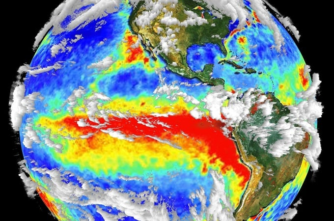 the problem of precipitation levels in california caused by el nino a weather phenomenon