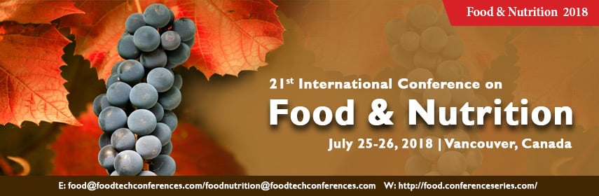 21st International Conference on Food & Nutrition